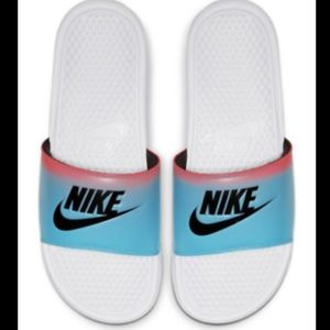 NWT Nike Benassi JDI Print Slides